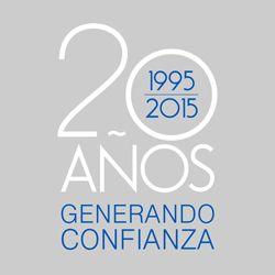XX Aniversario - 20 años generando confianza