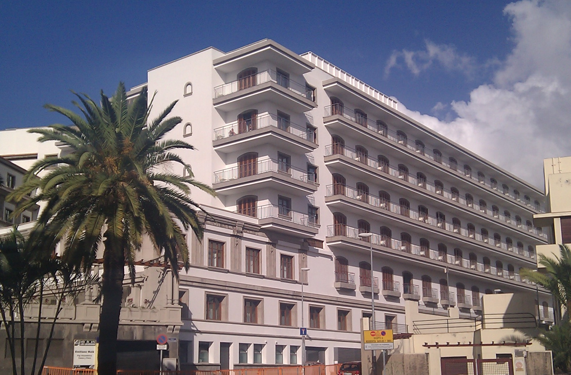 Hotel Mencey en Santa Cruz de Tenerife.