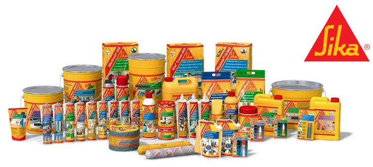 Distribuidor de productos Sika en Canarias