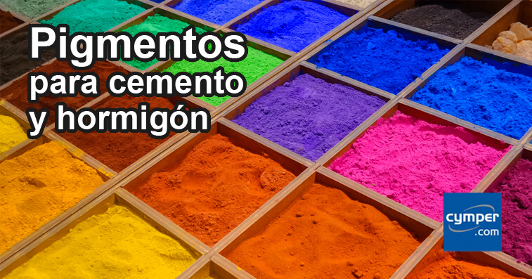 Pigmentos para cemento y hormig n cymper for Mezcla de hormigon