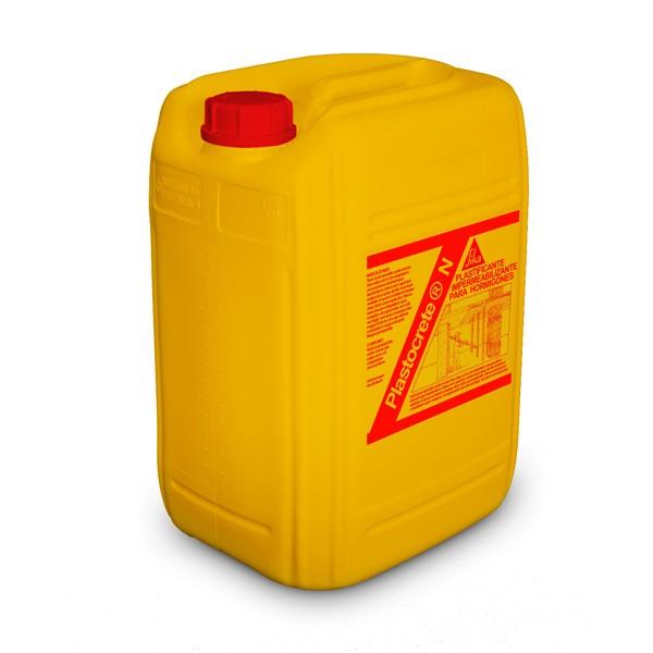 Aditivo impermeabilizante para hormig n sika plastocrete n - Sika pintura impermeabilizante ...